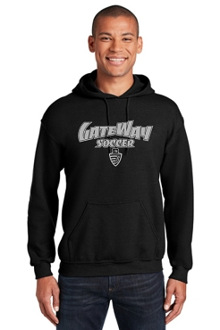 Gateway Soccer Black Hooded Sweatshirt (18500)