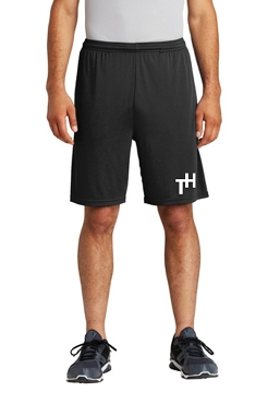 Team Hustle Competitor Shorts - Available in Black & Gray; youth & adult (ST355P)