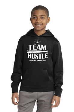 Team Hustle Youth Performance Hoodie (F244)
